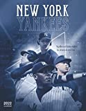 New York Yankees Calendar 2022: 18-month Calendar from Jul 2021 to Dec 2022 with size 8.5x11 inch for all fans