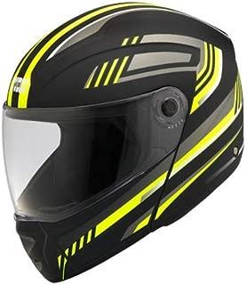 Studds Ninja Elite Super Décor Full Face Helmet (D1 Matt Black N5, L)