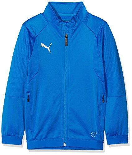 PUMA Kinder LIGA Training Jacket Jr Jacke, Electric Blue Lemonade White, 164