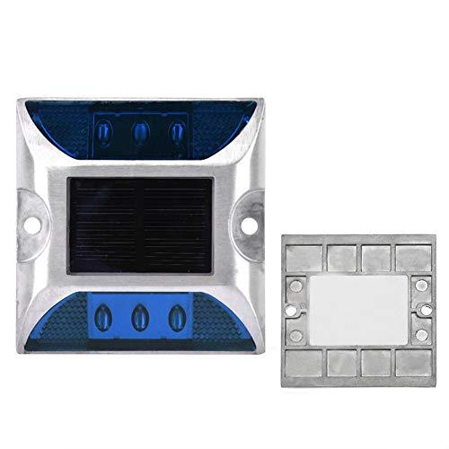 Solarbetriebene Stehlampe, Stehlampe, 6 x 5 mm superhelle Anti-Fog-LED-Leuchten für den Außenbereich