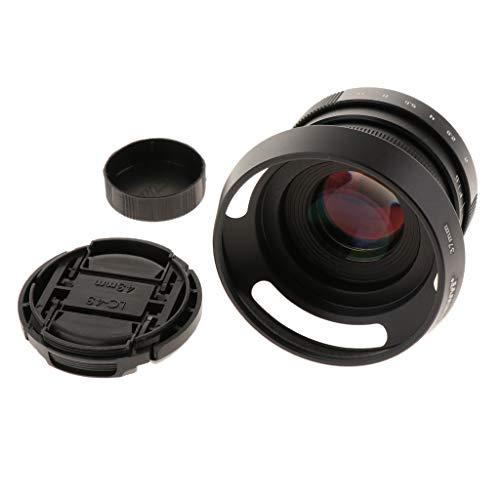 Baoblaze Lente CCTV con Montaje F1.6 de 35mm F1.6 C para Canon M EF-M APS-C