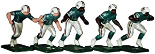 Tudor Games NFL 67 Big Men NFL Home Jersey - Miami Dolphins 11 Electric Football Players
