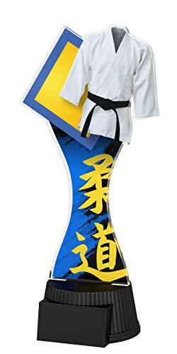Trophy Monster - Chaqueta de Karate con Placa grabada de Premio, Venta de trofeos a Granel, para la Escuela, niños, Empresa Grande, Hecha de acrílico Impreso (190 mm)