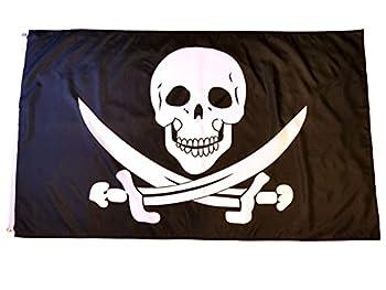 jolly roger flag 3x5