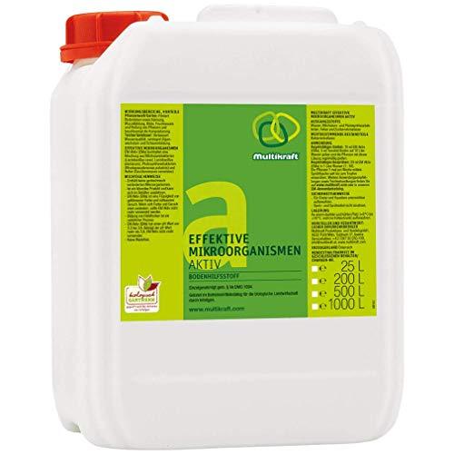 Microorganismos activos (EM-Aktiv), fertilizante para suelos de 25 l de Kan.