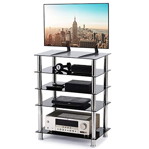 5-Tier Media Compontent TV Stand...