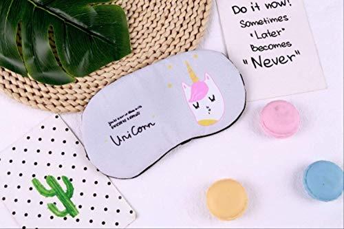 Máscara de Ojos para niños durmientes, Lindo Unicornio