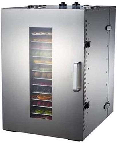 Best Price 16 Tray Fruit Dehydrator Machine Fruit Vegetable Meat Herbal Tea Fish Dryer Food Dryer