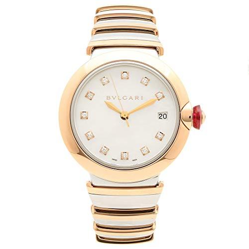 [ブルガリ]腕時計 レディース 自動巻き BVLGARI LU36WSPGSPGD/11 ピンクゴールド シルバー [並行輸入品]