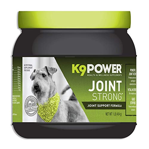 K9 Power Joint Strong - Joint Support Formula for Your Dog's Joint Health and Mobility - 1 Pound