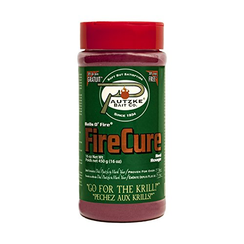 Pautzke Bait Fire Cure, Red, 16 oz
