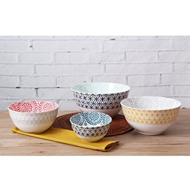 Mixing Bowls Melamine 4-Pack