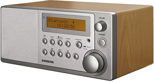 Sangean DDR-31BT Bluetooth Tischradio (DAB+, FM-RDS, AUX-in) walnuss