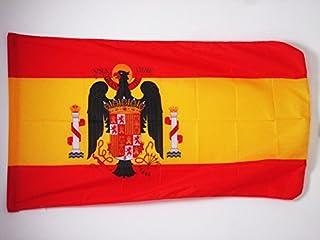 AZ FLAG Bandera de ESPAÑA DE Franco 1945-1977 150x90cm para Palo - Bandera FRANQUISTA ESPAÑOLA 90 x 150 cm