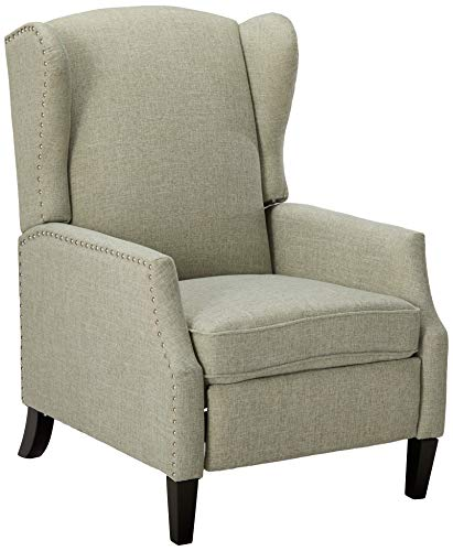 Christopher Knight Home Wescott Traditional Fabric Recliner, Taupe Tweed