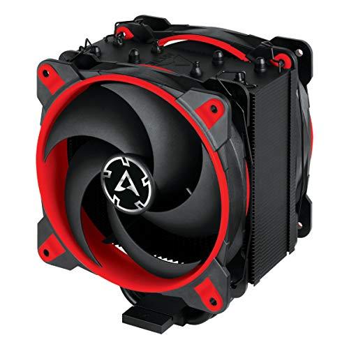 ARCTIC Freezer 34 eSports DUO - Ventola de CPU, Enfriador de CPU Push-Pull, Motor Silencioso, Desde 200 hasta 2100 Rpm, 2 Ventiladores PWM 120mm – Rojo