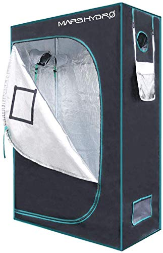 MARSHYDRO Reflective Mylar Hydroponic Grow Tent recommended grow tent