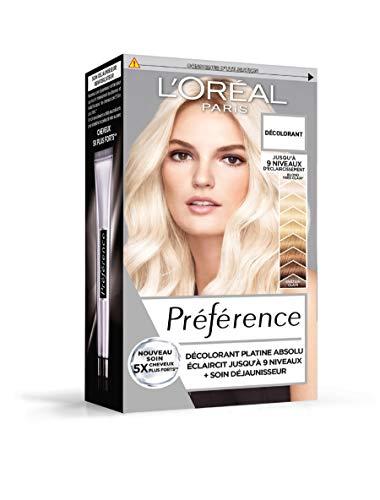 L'Oréal Paris Préférence Décoloration Permanente Blond Platine Absolu