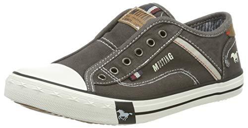 MUSTANG Unisex Kinder 5803-414-2 Slip On Sneaker, Grau (Grau 2), 34 EU