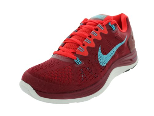 8a67b324d0180 Best Nike Men's Lunarglide+ 5 Tm Red/Gmm Bl/Chllng Rd/Smmt Wh ...