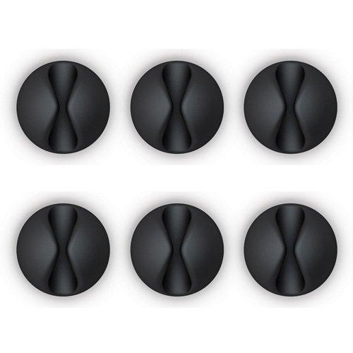 Bluelounge CD-BL CableDrop Kabelclip schwarz