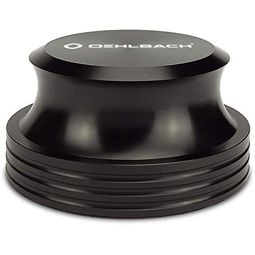 OEHLBACH Phono Weight Plattengewicht - Hochwertiges Auflagegewicht (420g) für LP/Vinyl/Schallplatten und Plattenteller schwarz