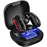 Auriculares Inalambricos Deportivos, Auriculares Bluetooth 5.1 Cancelación de Ruido Estéreo, 40H Cascos inalambricos con Mic, Carga Rápida USB-C, IP7 Impermeable In-Ear Auriculares Deporte/Running
