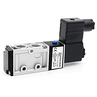 Baomain Pneumatic Solenoid Valve MVSC-220-4E1 DC 24V 1/4 inch 2 Position 5 Ways from Baomain Electric Co.,Ltd
