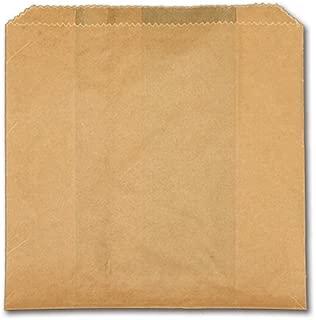 Mr. Bates Paper Company 6X2X9 Natural Grease Resistant Sandwich Bag (1000 per cs) McN # 320312
