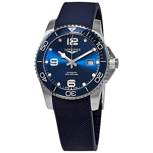 HydroConquest - Reloj de buceo automático (esfera azul, 41 mm)