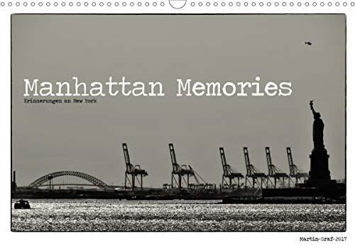 Manhattan Memories - Erinnerungen an New York (Wandkalender 2021 DIN A3 quer)