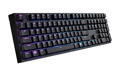 Cooler Master MasterKeys Pro L RGB Gaming-Tastatur (MX-Red) (SGK-6020-KKCR1-DE)