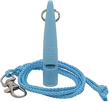ACME No. 211,5 coup de sifflet de chien avec un ruban (bleu clair)