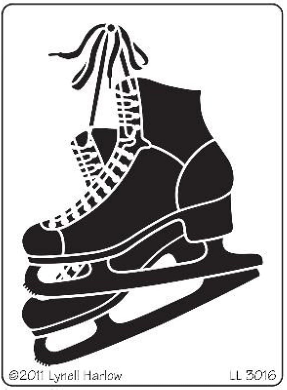 Stampendous DWLL3016 Dreamweaver Stencil, Ice Skates by STAMPENDOUS B01KBBIXF6 B01KBBIXF6 B01KBBIXF6     | Haltbarer Service  1d563e