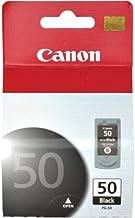 Canon PG-50 0616B002AA Fax-JX200 JX210 Pixma MP150 MP160 MP180 MP450 MP460 MX300 MX310 MX318 PIXUS iP2500 Ink Cartridge (B...