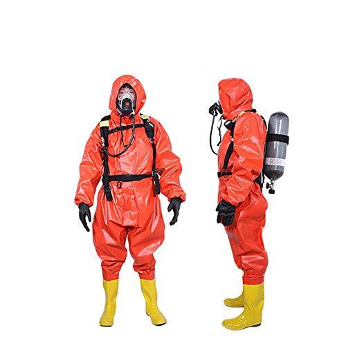 Overall met capuchon Chemical Protection Suit Antiviral Hazmat-pak Chem Overall met capuchon en laarzen