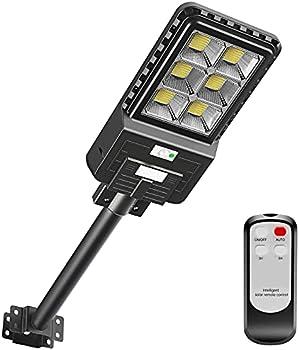 Awanfi Solar Street Lights Outdoor 396 LEDs Dusk