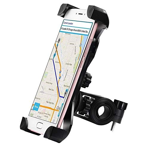 Andride Universal Bike Holder 360 Degree Rotating Bicycle Holder Motorcycle Cell Phone Cradle Mount Holder Mobile Phones