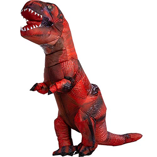 XCCV Erwachsene Dinosaurier-Kostüm Tyrannosaurus Kostüm Aufblasbares...
