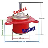 RASHRI ; One For All DC Motor II 12V DC Motor for DC/Solar Fan/Cooler Ii High Power 12V DC Big Motor for Projects