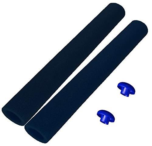 awshop24 16x Trampolin Schaumstoff schwarz 92 cm für 8 Stangen