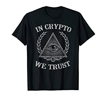 In Crypto We Trust Shirt Bitcoin Cryptocurrency