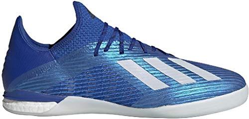 adidas X 19.1 IN, Zapatillas Deportivas Fútbol Hombre, Azul (Team Royal Blue/FTWR White/Core Black), 47 1/3 EU