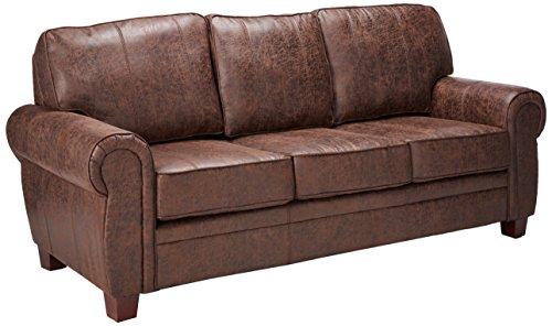 Coaster Allingham Traditional Dark Brown Elegant and Rustic Family Room Sofa