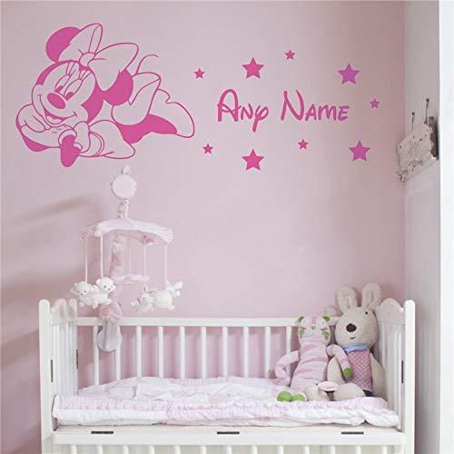 BailongXiao Sin Marco-Mouse vinilos Decorativos calcomanías de Personalidad habitación Infantil