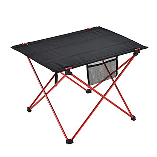 Aiong Mesa de Comida campestre, mesas portátiles de Comida campestre Que acampan de los Muebles al Aire Libre de la Tabla Plegable