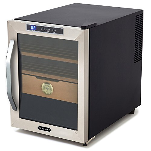 Whynter CHC-120S Stainless Steel 250-Cigar Cooler