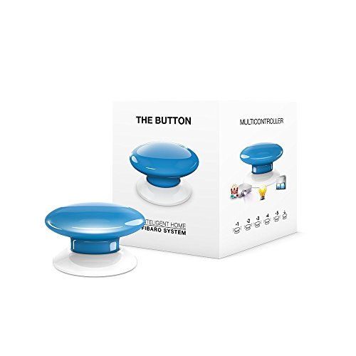 FIBARO FIBEFGPB-101-6 Blue The Button, 3,6 V, blauw