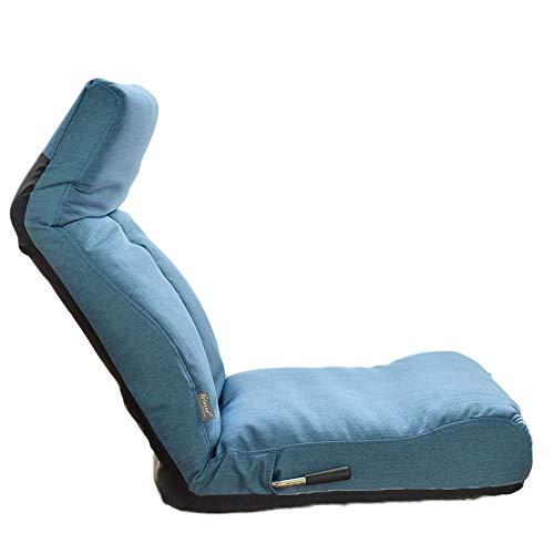 QIANMEI Lazy Couch Tatami Volver Plegable reclinable Cama Mirador Ordenador Perezoso sofá Silla for Suelo |Ajustable Piso Lazy sillón Silla Ajustable -6 (Color : A)