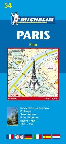 Plan de ville : Paris, numéro 54